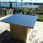 Custom built outdoor table - New Leaf Construction - Rockland, Maine