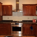 New kitchen range hood vent installation - Midcoast Maine - New Leaf Construction