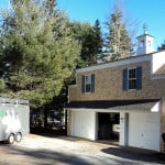 Garage home addition - Midcoast Maine - New Leaf Construction