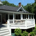Deck builder in Camden, Maine