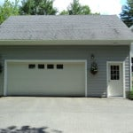 Garage renovation - Midcoast Maine - New Leaf Construction