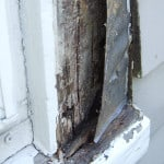 Rot repair, Rockport Maine